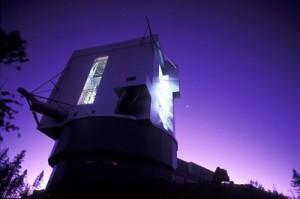 Il telescopio LBT in arizona, di cui l'INAF è uno dei partner, utilizzato  per studiare il quasar SDSS J0100+2802. Crediti: INAF- R. Cerisola