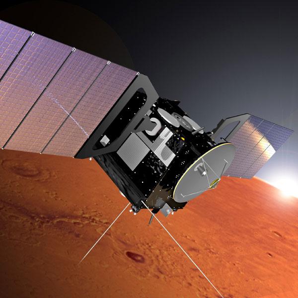 Mars Express. Crediti per l'immagine: Alex Lutkus