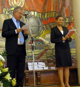 Massimo Capaccioli alla Lomonosov