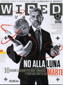 Bignami sulla copertina di Wired