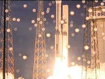 Il primo test del lanciatore spaziale europeo Vega ed il risultato dello scontro tra 2 galassie