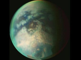 Titano visto da Cassini (NASA/ESA/ASI)