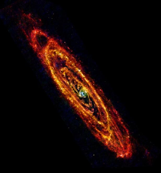 ESA/Herschel/PACS & SPIRE Consortium, O. Krause, HSC, H. Linz