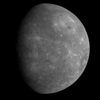 L'Immagine di Mercurio ripresa dalla sonda NASA Messenger