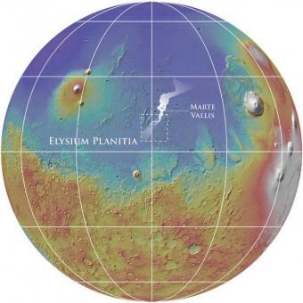 Crediti: NASA/MOLA Team/Smithsonian