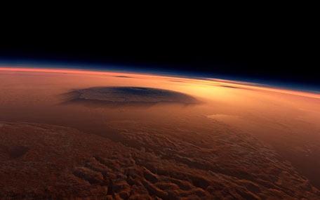 Un' immagine della superficie marziana.CREDIT: ESA