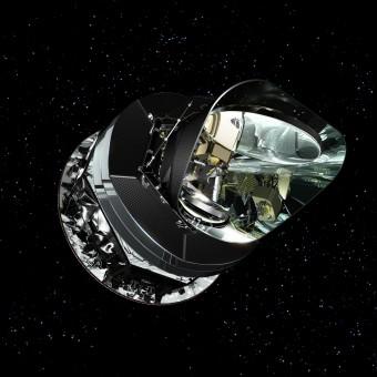 Rappresentazione artistica del satellite Planck (ESA)