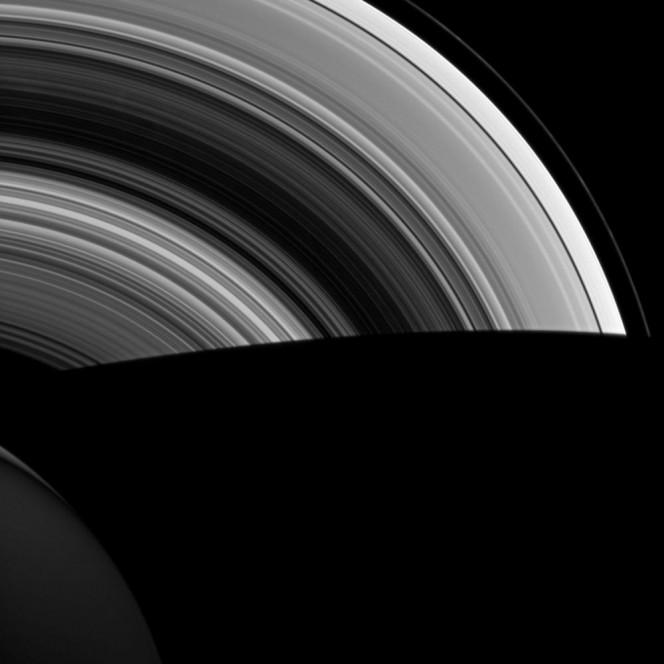 Una recente immagine degli anelli di Saturno realizzata dalla Cassini. Crediti: NASA/JPL-Caltech/Space Science Institute