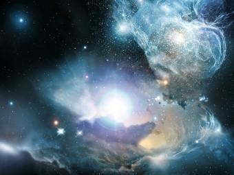 Rappresentazione artistica di un quasar. Crediti: NASA/ESA/ESO/Wolfram Freudling et al. (STECF)