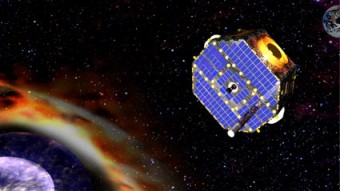 Rappresentazione del satellite IBEX (NASA)
