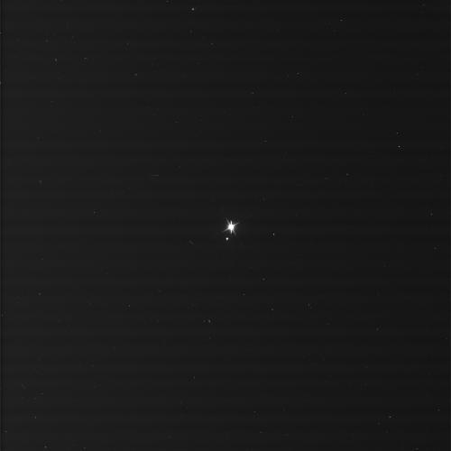 Una delle immagini raw della terra realizzate dalla Cassini il 19 Luglio 2013. Crediti: NASA/JPL/Space Science Institute