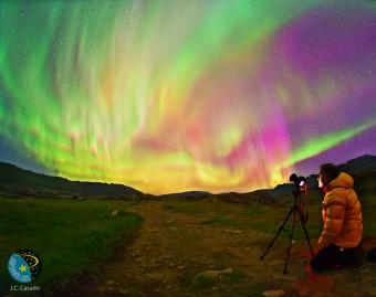 Un'istantanea dalla spedizione del 2012. Crediti: J.C.Casado/Shelios 2012