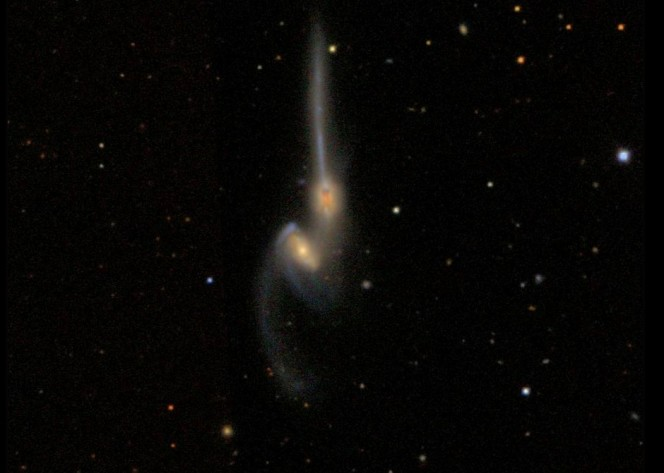 La coppia di galassie NGC 4676