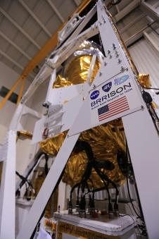 La missione BRRISON prima del lancio.