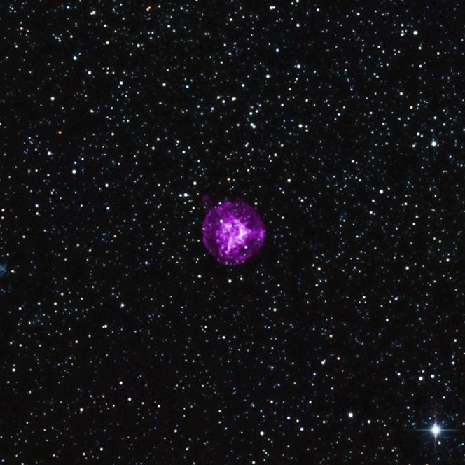 Credit: X-ray: NASA/CXC/Drew Univ/S.Hendrick et al, Infrared: 2MASS/UMass/IPAC-Caltech/NASA/NSF