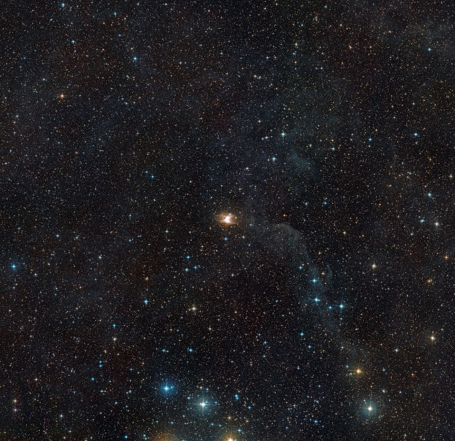 Crediti: ESO/Digitized Sky Survey 2. Acknowledgement: Davide De Martin