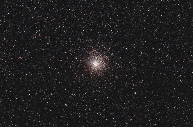 Buco nero nell'ammasso globulare M62