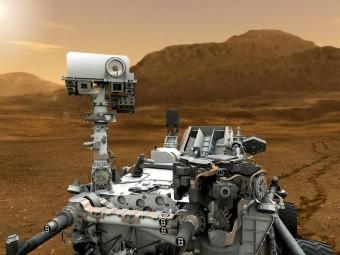 Riproduzione artistica del rover Curiosity. CREDIT: NASA/JPL-Caltech
