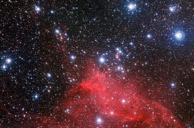 L'ammasso stellare NGC 3572