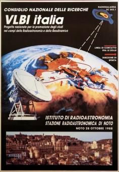 Manifesto per l'inaugurazione della parabola di Noto (1988)