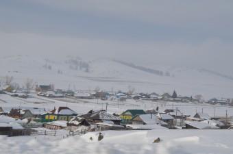 Uno dei villaggi della zona nei dintorni di Chelyabinsk visitati dal team di Olga Popova durante l'indagine sul campo. Crediti: Peter Jenniskens, Science/AAAS