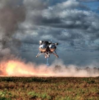 Uno scatto dal test del 10 dicembre. CREDITI: NASA