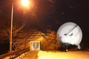 Il radiotelescopio utilizzato per osservare le due pulsar millisecondo. Crediti: MPIfR/Norbert Junkes