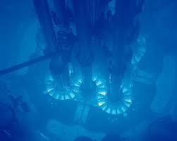 L'effetto Cherenkov nei reattori nucleari di Fukushima  dopo l'incidente del 2011.