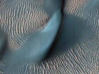 Dune su Marte. Crediti: NASA/JPL