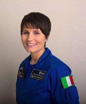 L'astronauta Samantha Cristoforetti. Crediti: ESA