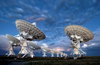 "Il radiotelescopio ""Karl G. Jansky"" Very Large Array (VLA)"