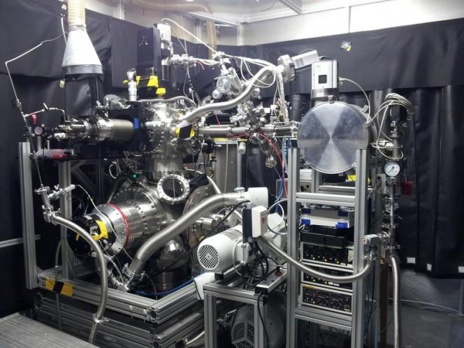 L' X-ray laser FLASH presso il DESY. Crediti: Ulf Zastrau/University of Jena