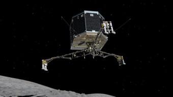 "Una ""artistic impression"" del lander Philae. Crediti: ESA/ATG medialab"