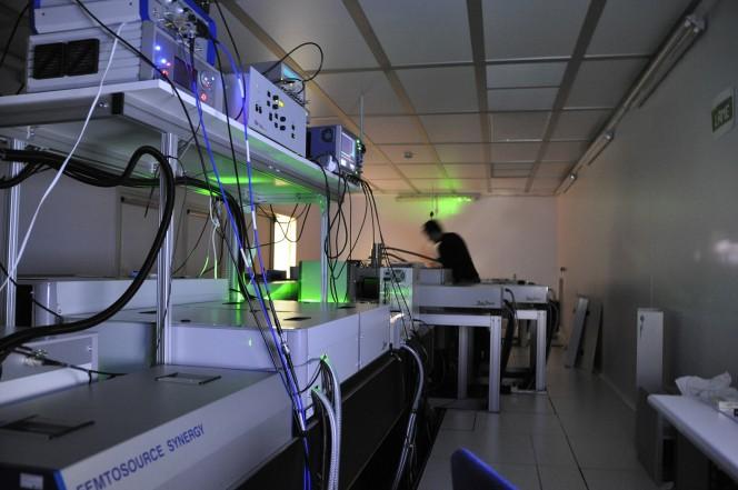 FLAME è protagonista della ricerca in corso ai Laboratori Nazionali di Frascati dell'IINFN, in collaborazione con il gruppo GAP-Biophotonics di fisica applicata dell'Università di Ginevra.