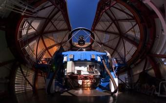 Il Magellan Telescope presso l'Osservatorio di Las Campanas in Cile.