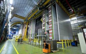 L'esperimento OPERA, nei laboratori sotterranei del Gran Sasso (crediti: INFN)