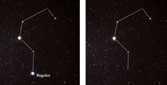 La stella Regulus sparisce dietro Erigone. Crediti: Akira Fujii / Sky & Telescope magazineView full size image
