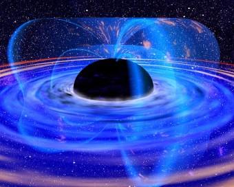 Rappresentazione artistica di un buco nero. Crediti: NASA