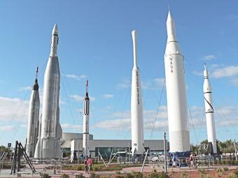 Il Kennedy Space Center Visitor Complex di Orlando, in Florida.
