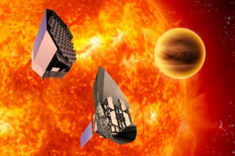 Rappresentazione artistica della missione PLATO. Crediti: ESA