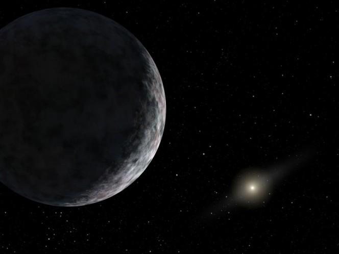 Visione artistica di un corpo celeste roccioso ai confini del Sistema solare. Crediti: NASA/JPL