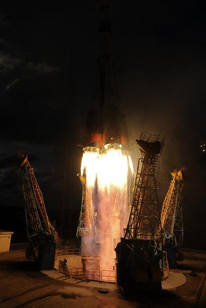 VS07 Soyuz  / Sentinel-1A. Crediti: Esa