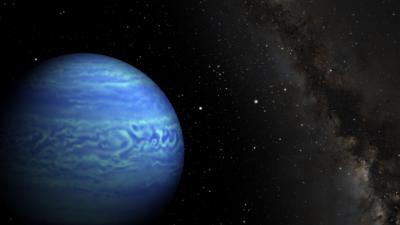 Rappresentazione artistica della nana bruna WISE J085510.83-071442.5. Crediti: Robert Hurt/JPL, Janella Williams/Penn State University