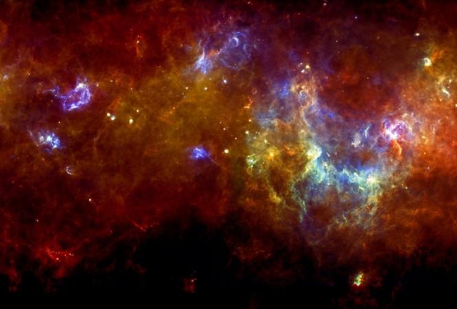 Crediti: ESA/PACS & SPIRE Consortium, S. Molinari, Hi-GAL Project