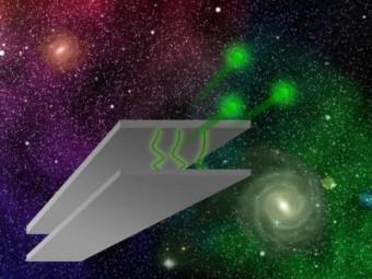 Il passaggio dei neutroni tra due piatti paralleli. Crediti: TU Vienna