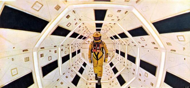 2001: odissea nello spazio. Un fotogramma del capolavoro di Stanley Kubrick del 1968.