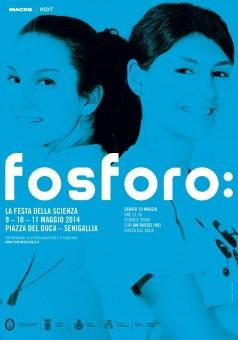 La locandina della manifestazione. Fosforo torna in piazza a Senigallia dal 9 all'11 maggio.
