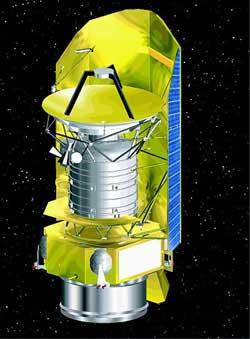 L'osservatorio spaziale Herschel. Crediti: ESA