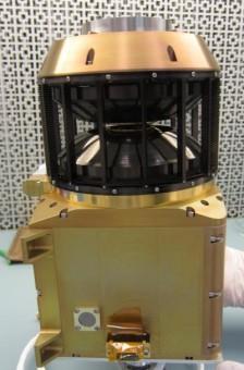 L'analizzatore ionico di vento solare a bordo della MAVEN, che studierà gli ioni nell'atmosfera marziana, per permettere di comprendere meglio la sua evoluzione. Crediti: NASA
