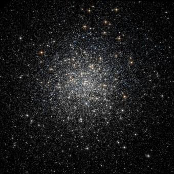 L'ammasso globulare Messier 3. Crediti: NASA/ESA/HST